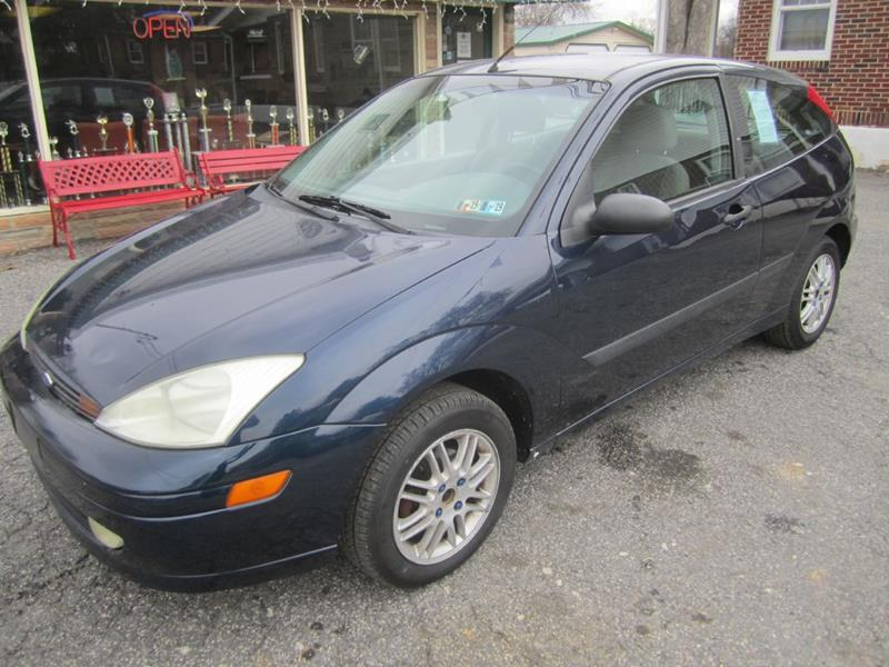2002 ford focus zx3 2dr hatchback in carlisle pa - red circle