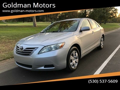 2008 Toyota Camry Hybrid For Sale In Davis, CA
