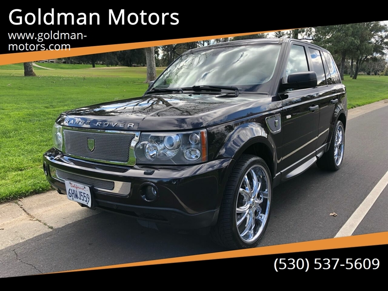 2009 Land Rover Range Rover Sport for sale at Goldman Motors in Davis CA