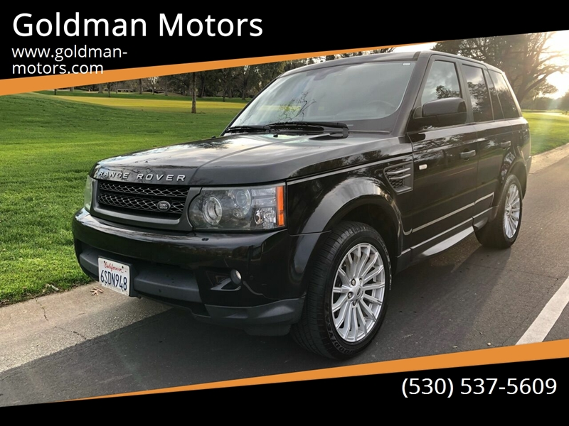 2011 Land Rover Range Rover Sport for sale at Goldman Motors in Davis CA