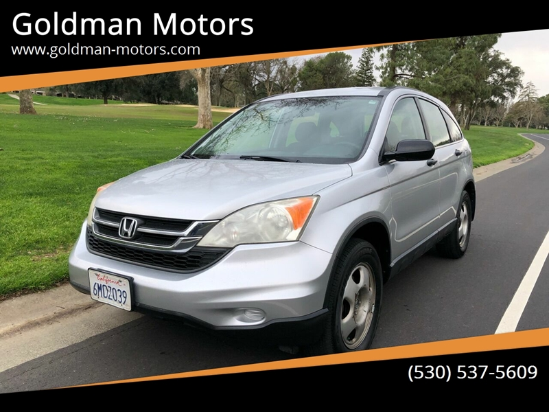 2010 Honda CR-V for sale at Goldman Motors in Davis CA
