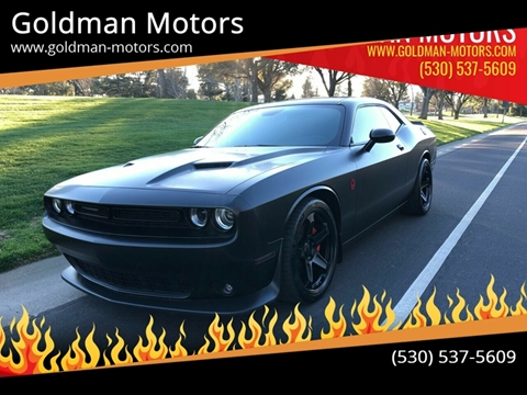 2018 Dodge Challenger for sale at Goldman Motors in Davis CA