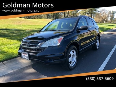 2011 Honda CR-V for sale at Goldman Motors in Davis CA