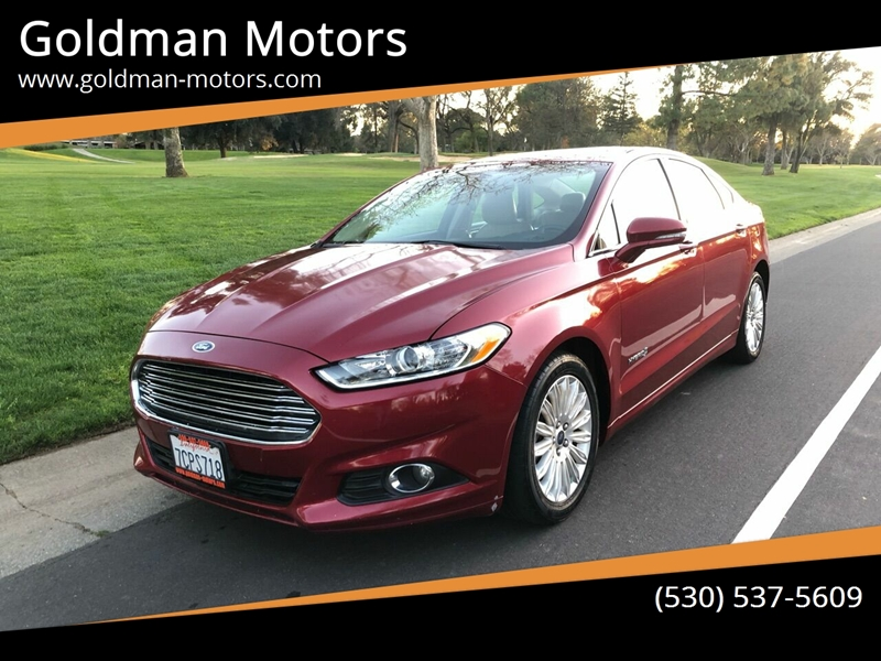 2014 Ford Fusion Hybrid for sale at Goldman Motors in Davis CA