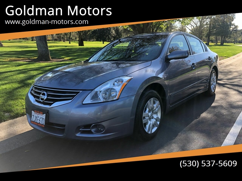 2012 Nissan Altima for sale at Goldman Motors in Davis CA