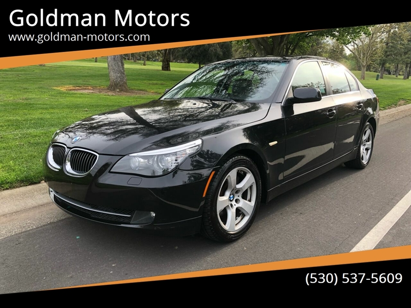 2008 BMW 5 Series for sale at Goldman Motors in Davis CA
