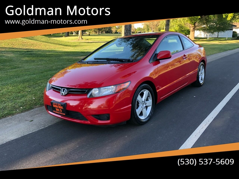 2007 Honda Civic for sale at Goldman Motors in Davis CA