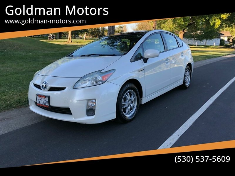 2010 Toyota Prius for sale at Goldman Motors in Davis CA