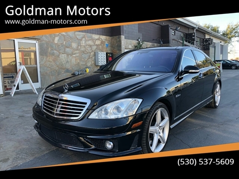 2009 Mercedes-Benz S-Class for sale at Goldman Motors Corp in Stockton CA