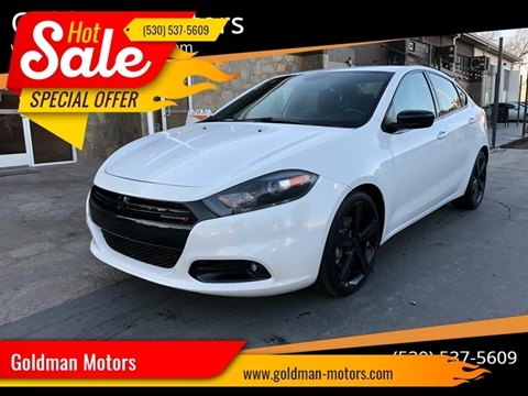 2016 Dodge Dart for sale at Goldman Motors Corp in Stockton CA