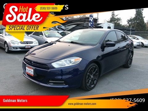 2013 Dodge Dart for sale at Goldman Motors Corp in Stockton CA