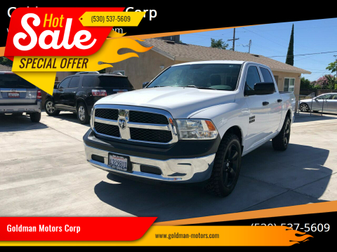 2016 RAM Ram Pickup 1500 for sale at Goldman Motors Corp in Stockton CA