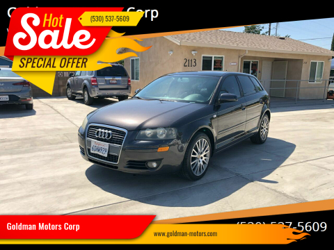 2008 Audi A3 for sale at Goldman Motors Corp in Stockton CA