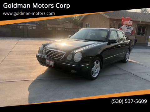 2001 Mercedes-Benz E-Class for sale at Goldman Motors Corp in Stockton CA