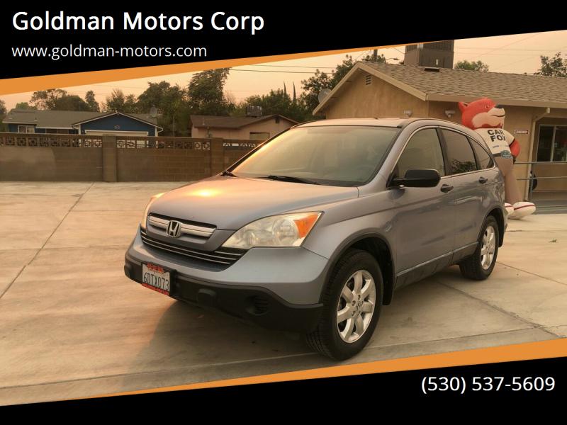 2008 Honda CR-V for sale at Goldman Motors Corp in Stockton CA