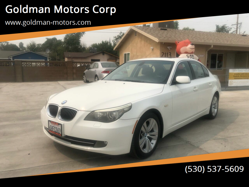 2009 BMW 5 Series for sale at Goldman Motors Corp in Stockton CA