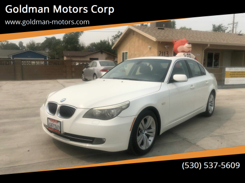 2009 BMW 5 Series for sale at Goldman Motors Corp in Stockton CA