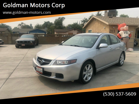 2004 Acura TSX for sale at Goldman Motors Corp in Stockton CA