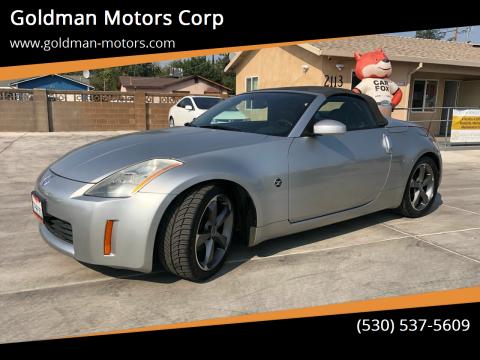 2005 Nissan 350Z for sale at Goldman Motors Corp in Stockton CA