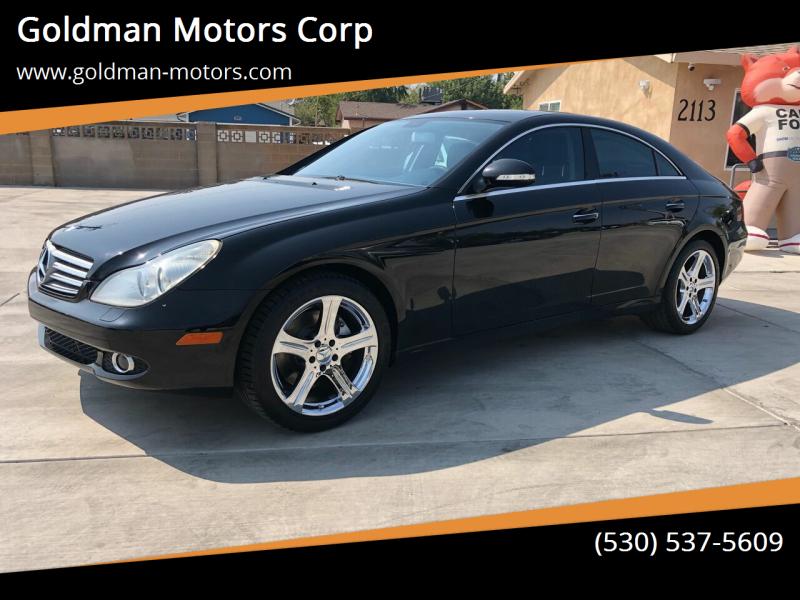 2007 Mercedes-Benz CLS for sale at Goldman Motors Corp in Stockton CA