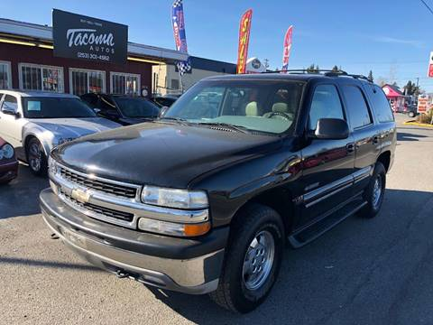 2001 Chevrolet Tahoe For Sale In Tacoma WA