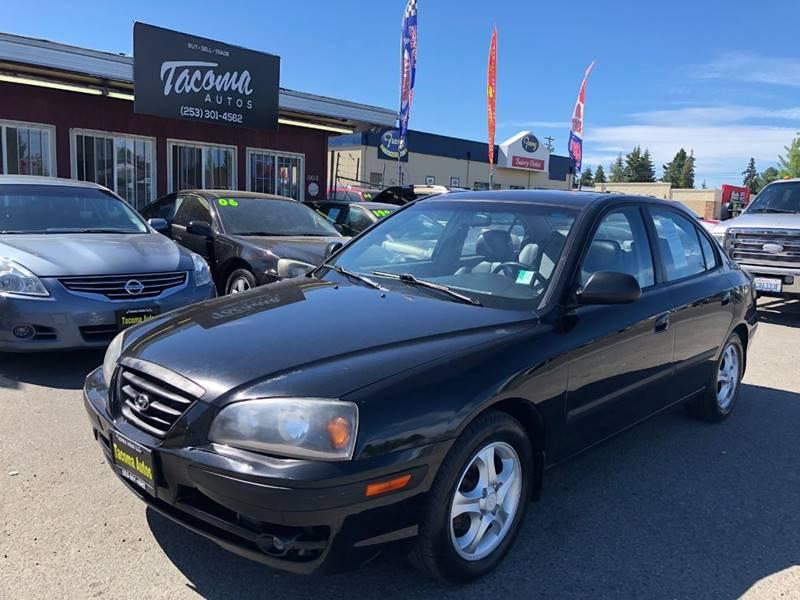 2005 Hyundai Elantra For Sale At Tacoma Autos LLC In Tacoma WA