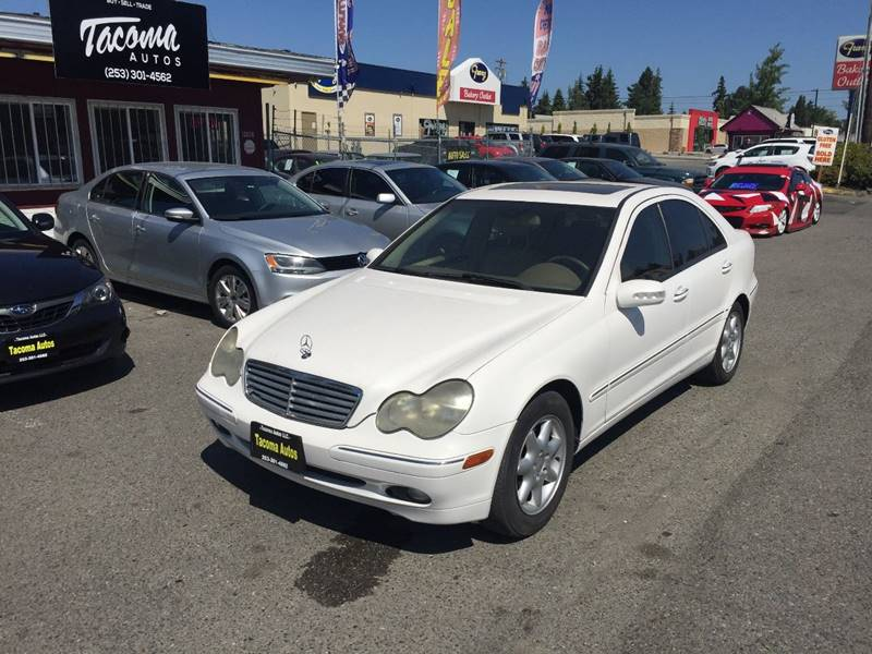 2004 Mercedes Benz C Class For Sale At Tacoma Autos LLC In Tacoma WA