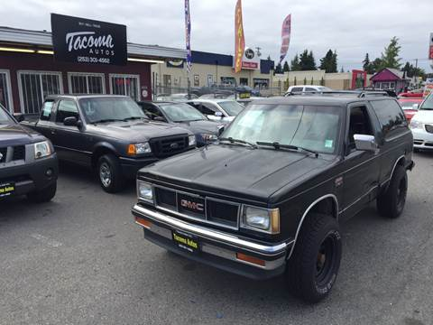 1987 GMC S-15 Jimmy for sale in Tacoma, WA