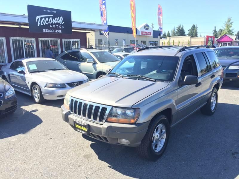 1999 Jeep Grand Cherokee For Sale At Tacoma Autos LLC In Tacoma WA