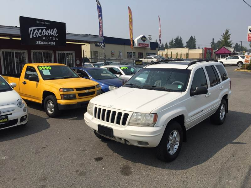2000 Jeep Grand Cherokee For Sale At Tacoma Autos LLC In Tacoma WA