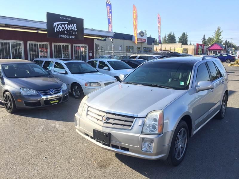 2004 Cadillac Srx In Tacoma Wa Tacoma Autos Llc