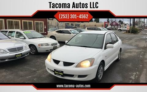 2005 Mitsubishi Lancer O-Z Rally for sale at Tacoma Autos LLC in Tacoma WA
