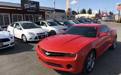 2012 Chevrolet Camaro for sale in Tacoma, WA