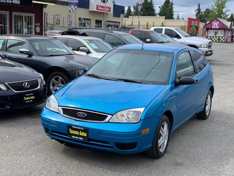 2007 Ford Focus ZX3 S for sale at Tacoma Autos LLC in Tacoma WA