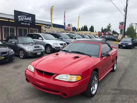 1997 Ford Mustang SVT Cobra for sale in Tacoma, WA
