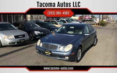2006 Mercedes-Benz E-Class E 350 for sale at Tacoma Autos LLC in Tacoma WA