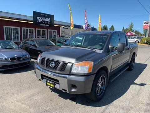 2008 Nissan Titan SE FFV for sale at Tacoma Autos LLC in Tacoma WA