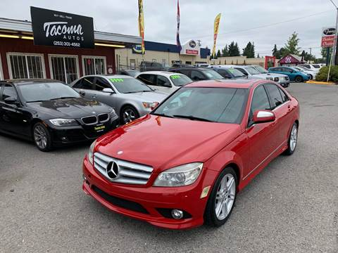 2008 Mercedes-Benz C-Class C 350 Sport for sale at Tacoma Autos LLC in Tacoma WA