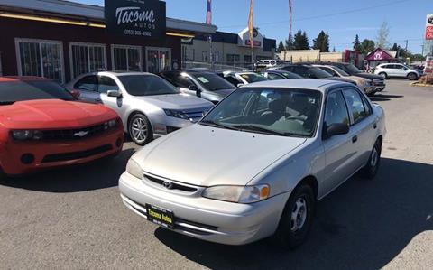 1999 Toyota Corolla CE for sale at Tacoma Autos LLC in Tacoma WA