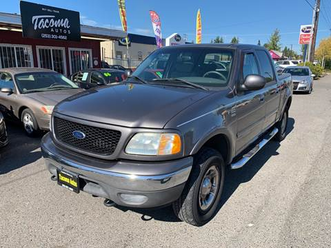 2003 Ford F-150 Lariat for sale at Tacoma Autos LLC in Tacoma WA