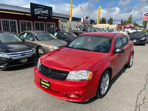 2014 Dodge Avenger SE for sale at Tacoma Autos LLC in Tacoma WA