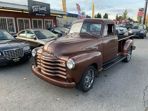 1951 Chevrolet Apache for sale at Tacoma Autos LLC in Tacoma WA