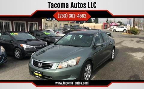 2008 Honda Accord EX for sale at Tacoma Autos LLC in Tacoma WA