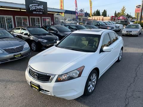 2008 Honda Accord EX-L for sale at Tacoma Autos LLC in Tacoma WA