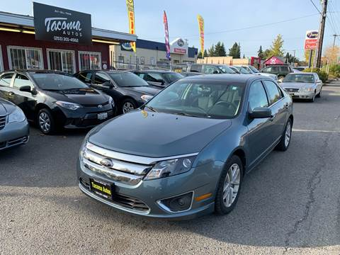 2012 Ford Fusion SEL for sale at Tacoma Autos LLC in Tacoma WA