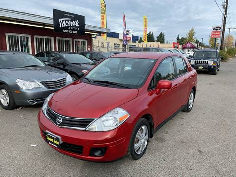 2010 Nissan Versa 1.8 S for sale at Tacoma Autos LLC in Tacoma WA