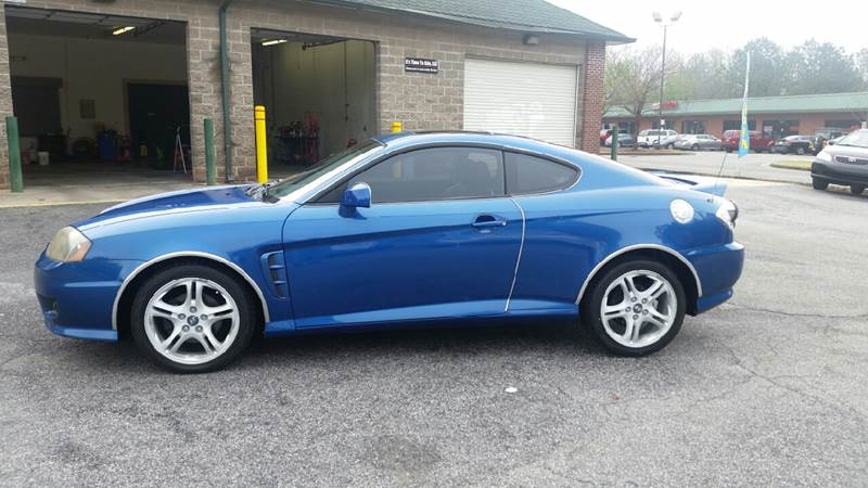 2005 Hyundai Tiburon For Sale At Its Time To Ride, LLC In Decatur GA