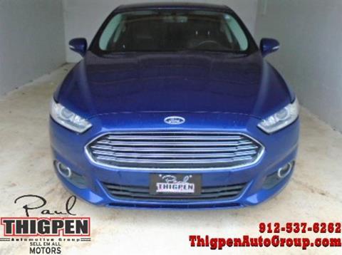 2013 Ford Fusion for sale in Vidalia, GA