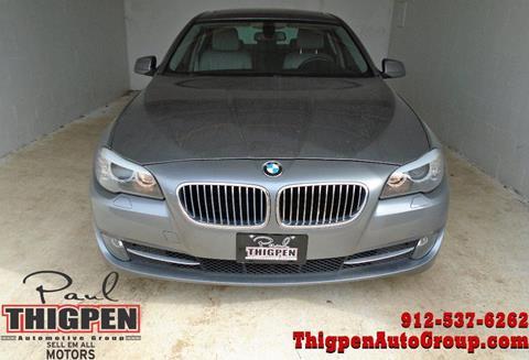 2011 BMW 5 Series for sale in Vidalia, GA