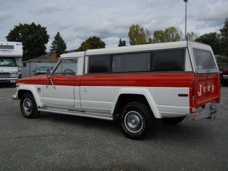 1973 Jeep J4000 Pickup for sale at J.K. Thomas Motor Cars in Spokane Valley WA